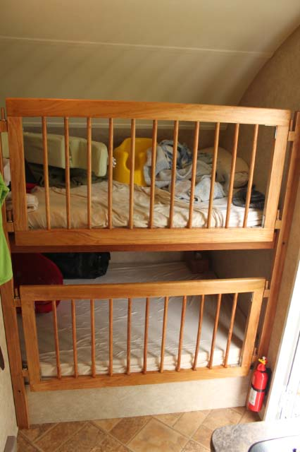 Studs? - Installing a Crib Side in a Bunk - r-pod Nation ...